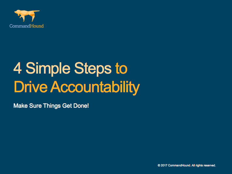 4 Step Guide To Drive Accountability