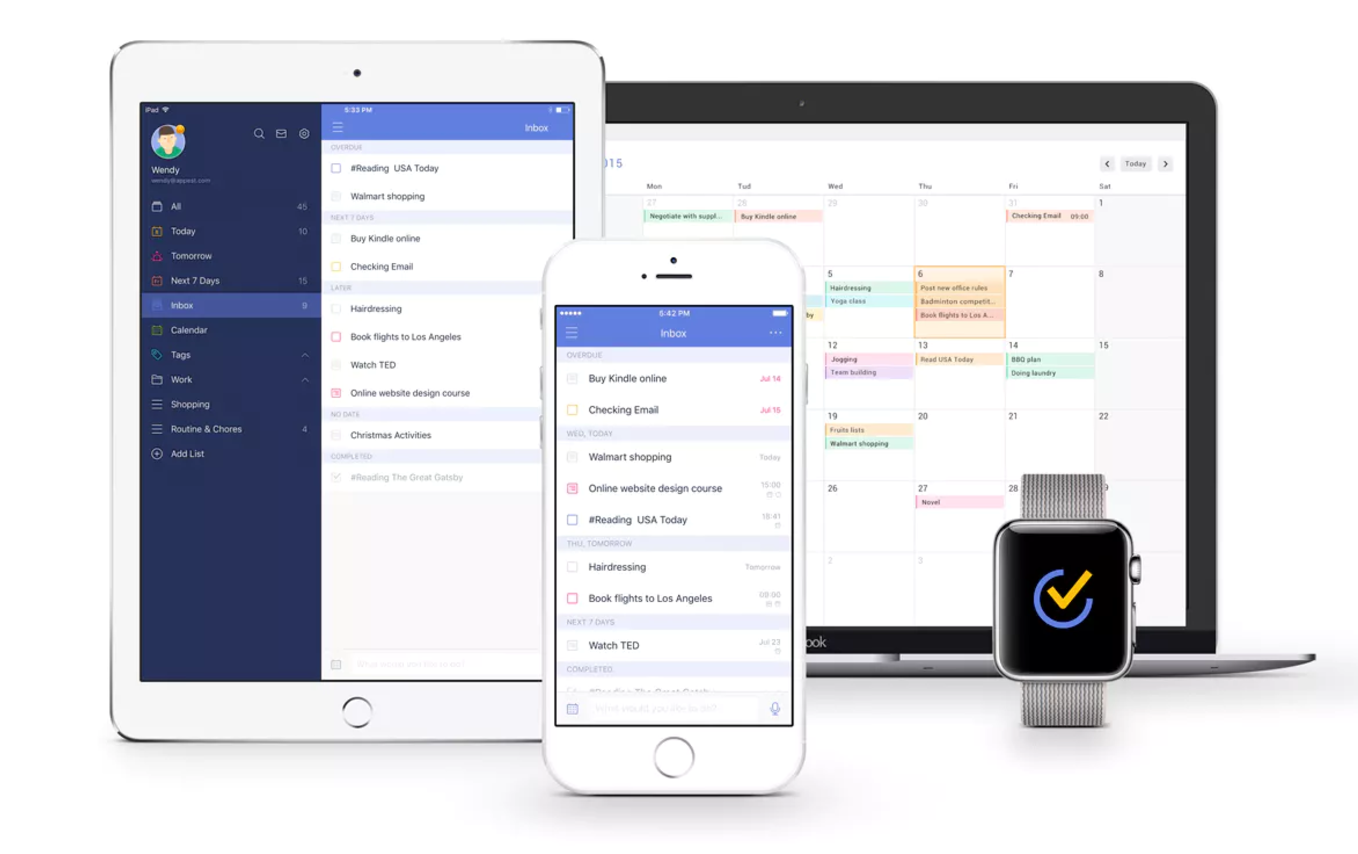 TickTick is a great checklist software focusing on powerful functionality, yet sleek simplicity to make sure things get done