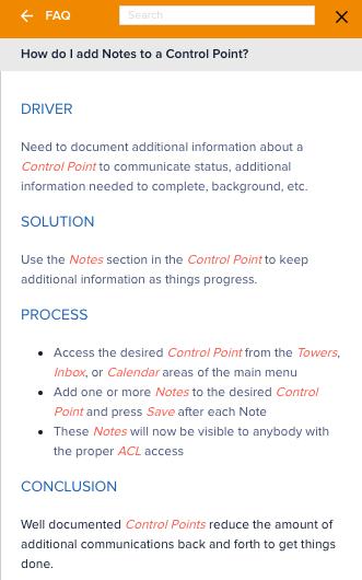 CommandHound FAQ Example